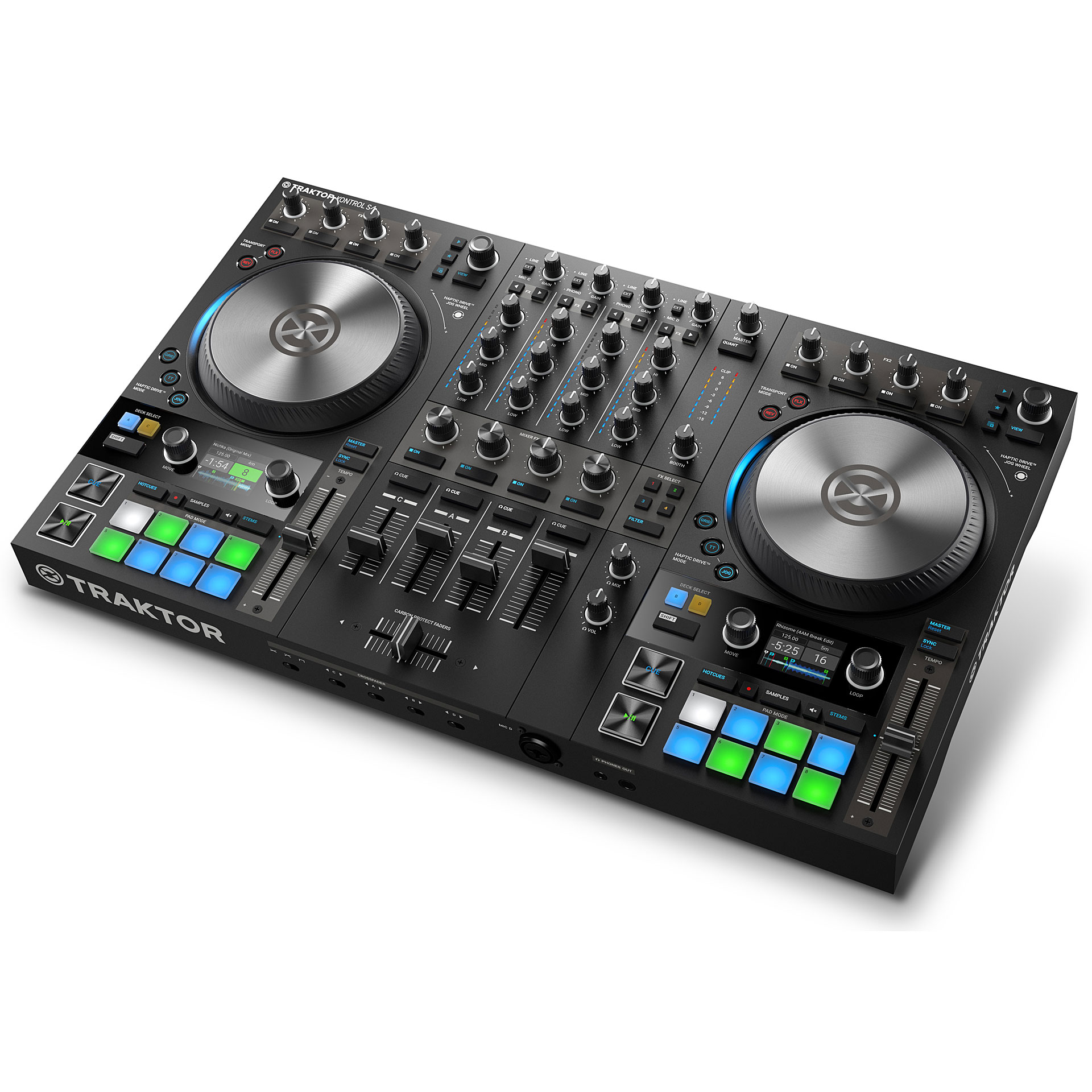 traktor kontrol s4 mk3 thessaloniki new djs' team