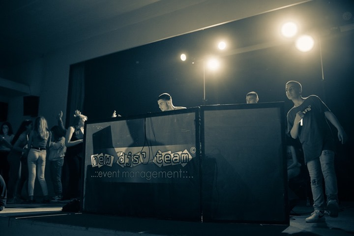 lightgun school party thessaloniki new djs' team