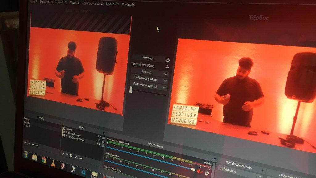 livestream dj booth new djs' team