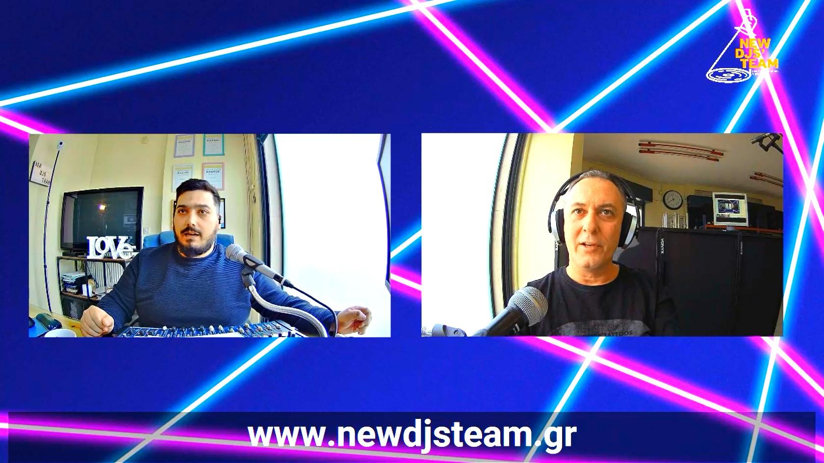 radio show livestreaming θεσσαλονίκη new djs' team Πέτρος Μάλαμας